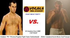 Yogaka Fight Night Party - 18/10/08 - Switzerland