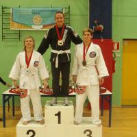 Couples champion: Milena and Claudio from Switzerland win in Italy in the BJJ European