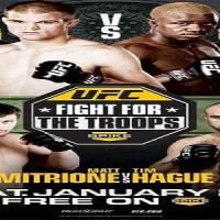 UFC FIGHT NIGHT: FIGHT FOR THE TROOPS 2 live and free, to Switzerland in MMA SWISS