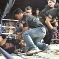 VIDEO: URCC Promoter Alvin Aguilar Chokes Out Fighter for Attacking Referee