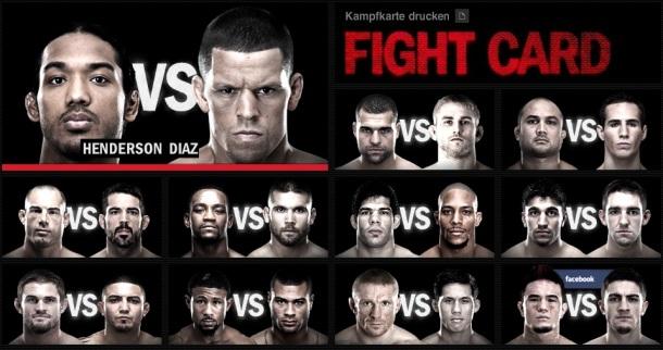 UFC hfasdfa