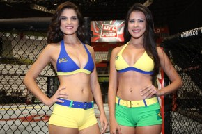 See the Photo Gallery with the Brazilian Girls, Aline Franzoi and Camila Oliveira, the youngest contracted for UFC