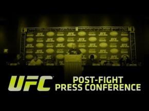 UFC on FOX: Johnson vs Dodson Post-fight PressConference
