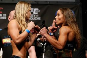 VIDEO: Interview with Ronda Rousey and  Liz Carmouche for UFC 157