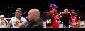 UFC 156: Jose Aldo and Frankie Edgar and Antonio Silva Post-Fight Interviews