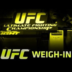 Video UFC 156: See now Aldo vs Edgar Weigh-In
