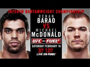 Renan Barao vs Michael McDonald – This Saturday!