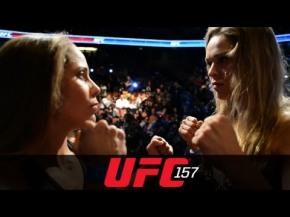 157: Ronda Rousey vs. Liz Carmouche and Lyoto Machida vs. Dan Henderson Weigh-inHighlight