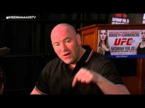 Dana White Defends His Cuts