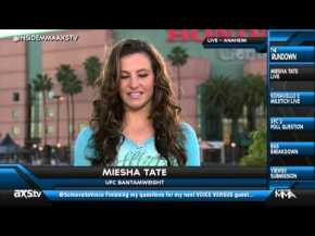 Miesha Tate's Stirring Words for Historic Event