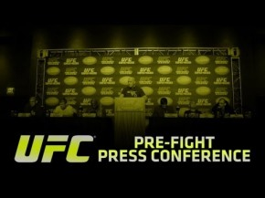 UFC on FUEL TV 8: Silva vs Stann Pre-fight Press Conference