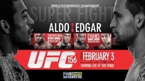 UFC 156 has already begin, See seen face to face fighters gladiators