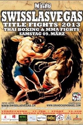 SWISS LAS VEGAS TITLE FIGHTS 2013,09.03.13
