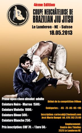 VIDEOS: 3° Cup Neuchatel BJJ 2012 and now 4° Cup Neuchatel BJJ 2013 Swizerland