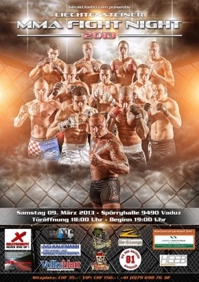 SATURDAY LIECHTENSTEINER MMA FIGHT NIGHT 2013