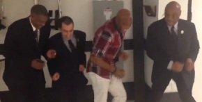 VIDEOS: Watch Anderson Silva dancing the new rhythm, new Brazilian music that is running the world