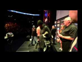 UFC 158: Condit vs. Hendricks and St-Pierre vs. Diaz Weigh-in Highlight