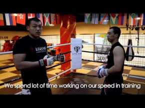 Liu Wenbo's secret to effective boxing in MMA
