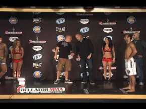 Bellator MMA Weigh Ins from Pechanga Resort & Casino