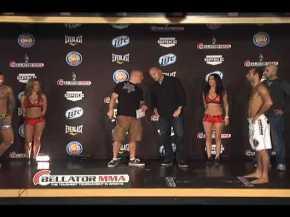 Bellator MMA Weigh Ins from Pechanga Resort &Casino
