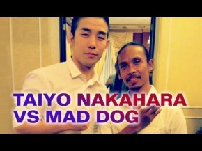 "VIDEO HUMOR: MMA CRAZY Taiyo ""The Sun"" Nakahara VS. The Raid: Redemption's Mad Dog!"