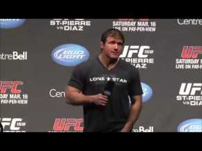 UFC 158 Q&A with Matt Hughes