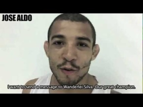Jose Aldo Sends Message to Wanderlei Silva for UFC Japan