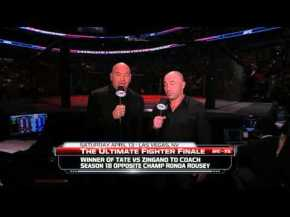 Dana White Announces the Coaches of The Ultimate Fighter Season 18