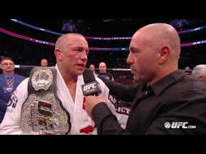 UFC 158: Videos Post-Fight Interviews and Highlights